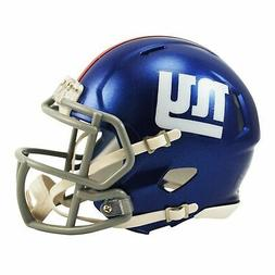 New York Giants Riddell NFL Mini Speed Replica Football Helm
