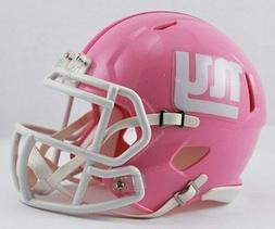 Riddell New York Giants Pink Replica Mini Helmet