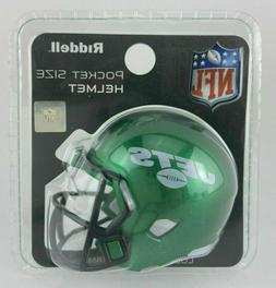 New York Jets 2019 NFL Green Riddell Revolution Speed Mini P