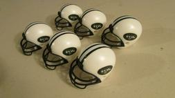 New York Jets 6 pack mini gumball cake topper NFL helmets
