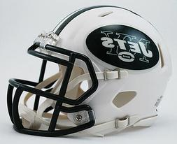 NEW YORK JETS RIDDELL SPEED FOOTBALL MINI HELMET NEW IN RIDD