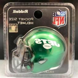 NEW YORK JETS - Riddell SPEED Pocket Pro Mini Helmet