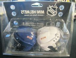 NEW YORK RANGERS NHL HOCKEY SMALL COUPLE REPLICA MINI HELMET