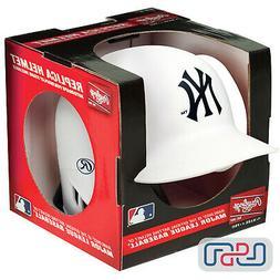 New York Yankees Matte White Rawlings Mini MLB Baseball Batt