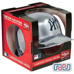 New York Yankees Silver Chrome Rawlings Mini MLB Baseball Ba