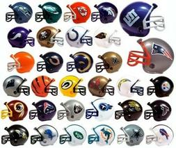 NFL 32 TEAM  MINI MICRO FOOTBALL HELMET SET made by RIDDELL