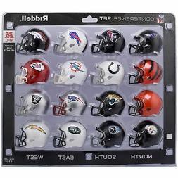 Riddell NFL AFC Conference Pocket Size Helmet Set  2018 Vers