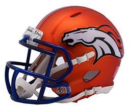 NFL Denver Broncos Alternate Blaze Speed Mini Helmet