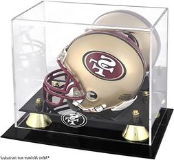 NFL Classic Helmet Logo Display Case NFL Team: San Francisco