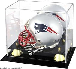 NFL Classic Helmet Logo Display Case NFL Team: New England P