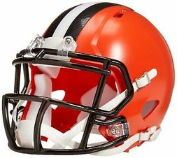 NFL Cleveland Browns Replica Mini Helmet, Medium, Black/Oran