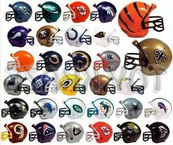 NFL COLLECTIBLE MINI FOOTBALL HELMET SET! COMPLETE 32 TEAMS
