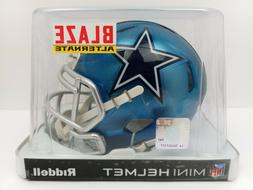 NFL Dallas Cowboys Alternate Blaze Speed Mini Helmet