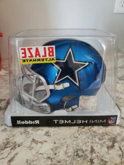 nfl dallas cowboys blaze mini helmet