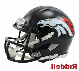 NFL Riddell Denver Broncos Mini Speed Helmet - Navy Blue