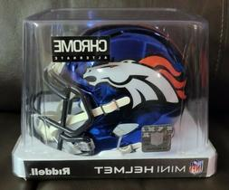 NFL Riddell Denver Broncos Throwback Mini Helmet
