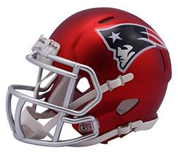 NFL New England Patriots Alternate Blaze Speed Mini Helmet