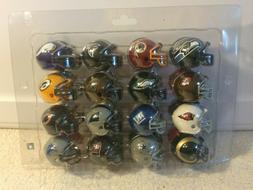 "RIDDELL NFL FOOTBALL 2"" MINI HELMET COLLECTION ALL 32 NFL TE"