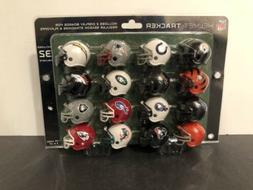 NFL Football 32 Team Mini Helmet Standings Display Tracker S