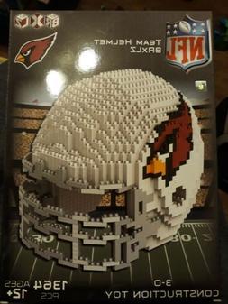 nfl football 3d brxlz mini helmet puzzle