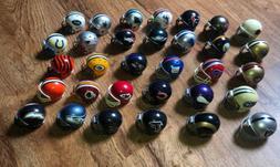 Riddell NFL FOOTBALL MINI HELMET SET Older Version Team Logo