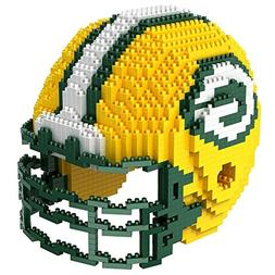 NFL Green Bay Packers BRXLZ Team Helmet 3-D Puzzle Construct
