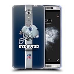 Official NFL Helmet Dallas Cowboys Logo Soft Gel Case for ZT
