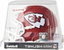 NFL Riddell Kansas City Chiefs Mini Speed Helmet - Red