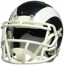 NFL Los Angeles Rams Speed Mini Replica Helmet, White, Mediu