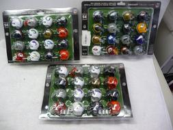 NFL Mini Football Helmet, AFC Super Bowl Set, NFC Playoff An