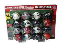 NFL RIDDELL MINI MICRO POCKET HELMET TRACKER 32 TEAM COLLECT
