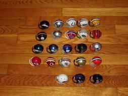 Riddell NFL POCKET PRO Mini Football Helmets Set of 23 Excel