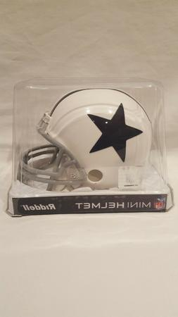 NFL RIDDELL THROWBACK DALLAS COWBOYS WHITE W/BLUE STAR  FOOT
