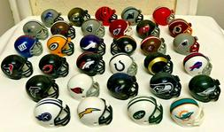 NFL Riddle Mini Helmets Set of 32 Complete Collection 2014 -