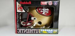 NFL San Francisco 49ers Riddell Authentic Miniatures Helmet