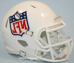 nfl shield logo speed mini helmet