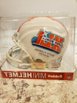 Riddell NFL Super Bowl 41 Mini-Helmet