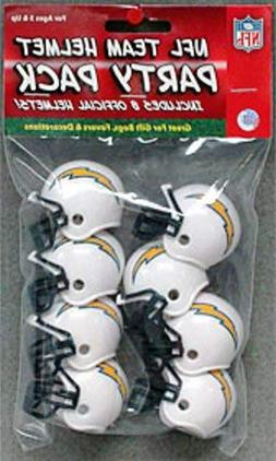 "NFL Team Mini Helmet Party Pack ""San Deigo Chargers"" - Great"