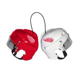 NHL Detroit Red Wings Kloz Mini Helmet Pair