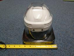 NHL Hockey plain White SportStar Player Mini Helmet