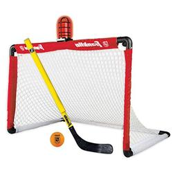 Franklin Sports Mini Hockey Goal and Stick - NHL - 36 x 24 I