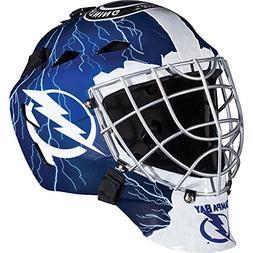 Franklin Sports NHL League Logo Tampa Bay Lightning Mini Goa