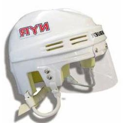 NHL New York Rangers Replica Mini Hockey Helmet