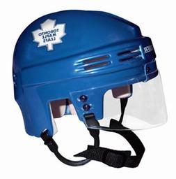 NHL Toronto Maple Leafs Mini Replica Hockey Helmet, Blue, Sm