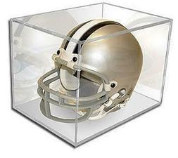 NIB 1 BallQube Football Mini Helmet Holder UV Cube Display C