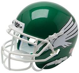 North Texas Mean Green NCAA Mini Authentic Football Helmet F