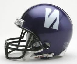 Riddell Northwestern Wildcats Replica Mini Helmet w/Z2B Mask