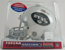 NY Jets Chrome Mini Helmet * SUPER BOWL III * SB 3 Score * N