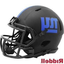 NY New York Giants Alt Eclipse Riddell Speed Mini Helmet - N