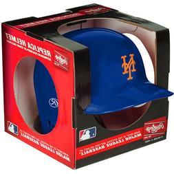 NY New York Mets Rawlings Mini Baseball Batting Helmet - wit